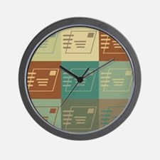 Postal Service Pop Art Wall Clock