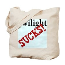 TWILIGHT SUCKS Tote Bag
