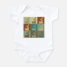 Physiology Pop Art Infant Bodysuit