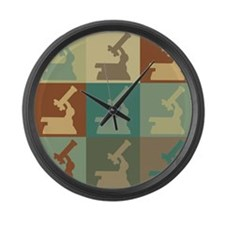 Physiology Pop Art Large Wall Clock