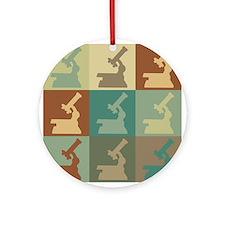 Physiology Pop Art Ornament (Round)