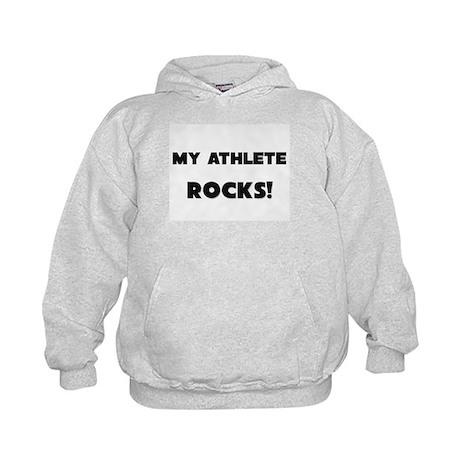 MY Athlete ROCKS! Kids Hoodie