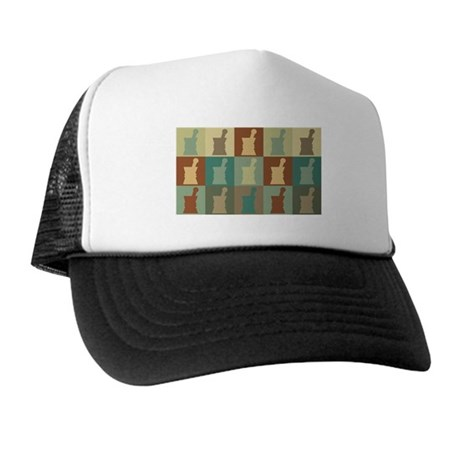 Pharmacology Pop Art Trucker Hat