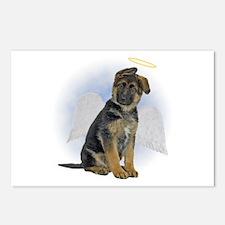 Angel German Shepherd Puppy Postcards (Package of