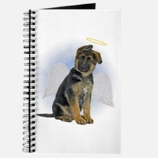Angel German Shepherd Puppy Journal