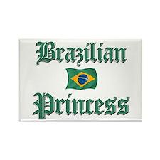 Brazilian Princess 2 Rectangle Magnet
