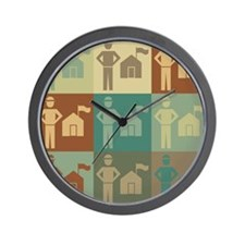 Parks Pop Art Wall Clock