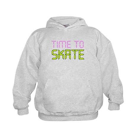 Time To Skate Kids Hoodie