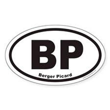 Berger Picard BP Euro Oval Decal