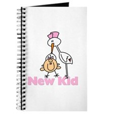 New Kid Baby Girl Journal