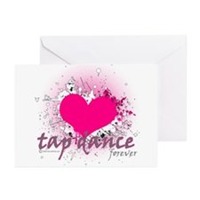 Love Tap Dance Forever Greeting Cards (Pk of 20)