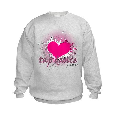 Love Tap Dance Forever Kids Sweatshirt