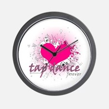 Love Tap Dance Forever Wall Clock