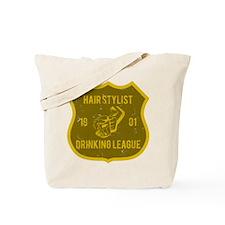 Hair Stylist Drinking League Tote Bag