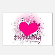 Love Twirling Forever Postcards (Package of 8)