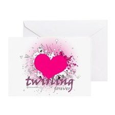 Love Twirling Forever Greeting Card