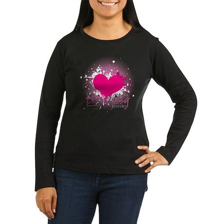 Love Twirling Forever Women's Long Sleeve Dark T-S
