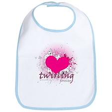 Love Twirling Forever Bib