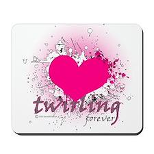 Love Twirling Forever Mousepad