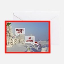 Obama's nuts funny anti Obama Christmas Cards