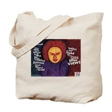 Be Yourself poem Tote Bag