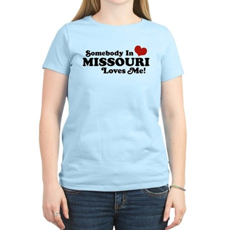 Cafepress - missouri loves - Women's Light T-Shirt
