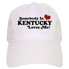 Somebody In Kentucky Loves Me Baseball Cap