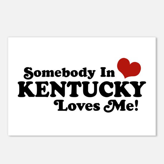 Somebody In Kentucky Loves Me Postcards (Package o