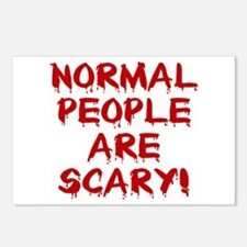 NORMAL PEOPLE ARE SCARY! Postcards (Package of 8)