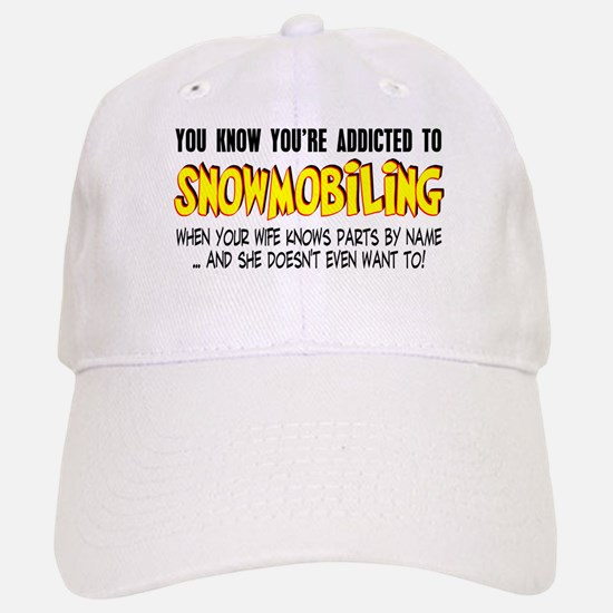 YKYATS - Wife Snowmobile Parts Hat