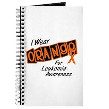 I Wear Orange For Leukemia Awareness 8 Journal