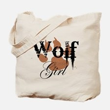 Wolf Girl Tote Bag