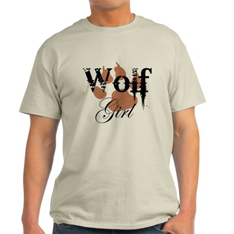 Wolf Girl Light T-Shirt