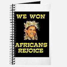 WE WON! WE WON! Journal