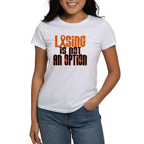 Losing Is Not An Option 5 ORANGE Women's T-Shirt