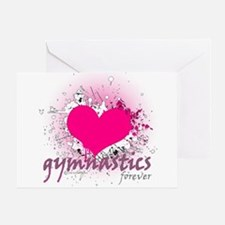 Love Gymnastics Forever Greeting Card