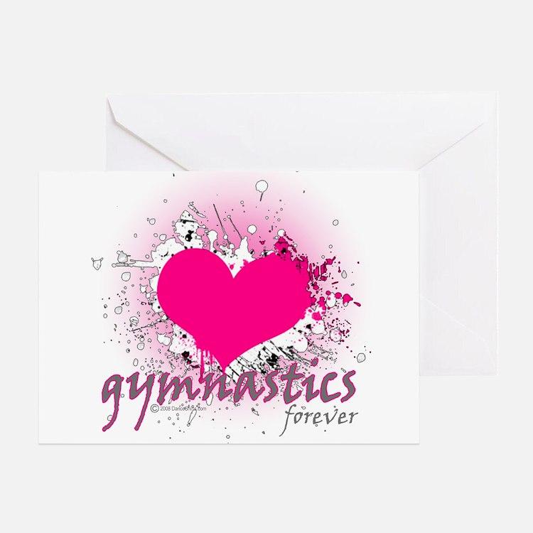 Love Gymnastics Forever Greeting Card