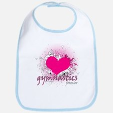 Love Gymnastics Forever Bib