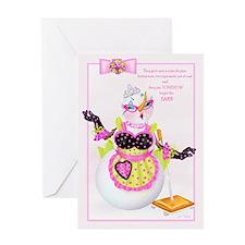 Snow Wife Greeting Card