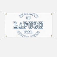 Property of LaPush Diving Team Banner
