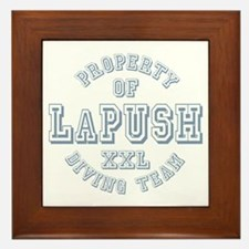 Property of LaPush Diving Team Framed Tile