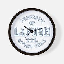 Property of LaPush Diving Team Wall Clock