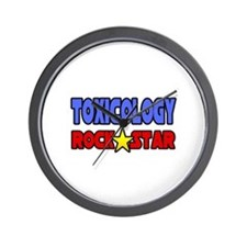 """Toxicology Rock Star"" Wall Clock"