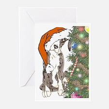 Santa's Help1 Greeting Cards (Pk of 20)