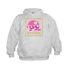 Girls Rule! Elephant Hoodie