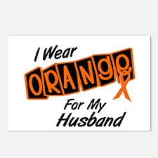 I Wear Orange For My Husband 8 Postcards (Package