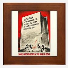 Anti Palin Framed Tile