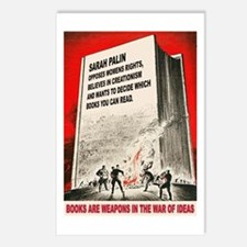 Anti Palin Postcards (Package of 8)