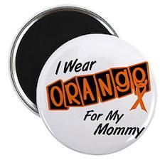 I Wear Orange For My Mommy 8 Magnet