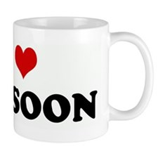 I Love BASSOON Small Mug